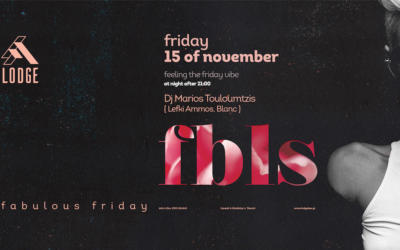 Fab Friday by MARIO T. | FRI. 15 NOV